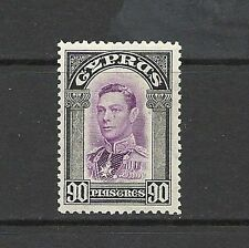Single George VI (1936-1952) Cypriot Stamps