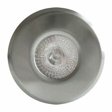 Fire Rated Downlights Bathroom lights Satin Chrome GU10  FLF18-1