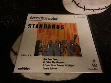 Laser Karaoke Standards Vol 12 NEW SEALED Laserdisc LD Free Ship $30 Orders