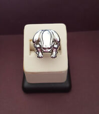 1997 Barry Kieselstein Cord sterling silver frog ring size 6 1/4 19.7 grams 925