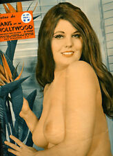 PARIS HOLLYWOOD #472 Parisian MEN'S Mag Garters & Hose Nudes 1971 ~ PARIS Latest