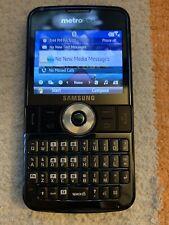 Samsung Code i220 QWERTY CDMA Windows Smartphone Metro PCS + 2GB Card