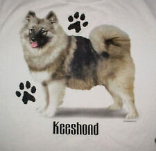 Ladies Mens Keeshond Puppy Dog T Shirt-Xl