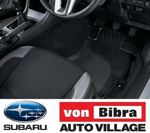 Brand New Genuine Subaru Impreza and XV Rubber Mat Set MY17- Onwards