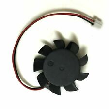 T124010DL For ASUS HD4550 HD5570 37mm DC12V 0.1A 2pin Graphics Card fan