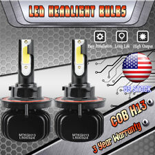 H13 LED Headlight Kit Bulbs for Dodge Ram 1500 2500 3500 2006-2012 High Low Beam