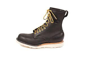 """White's Boots JOURNEYMAN-CC 8"""" Lace Up Boot (Vibram, Stitchdown, 2 Colors)"""