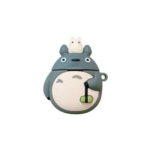 Totoro Spirited Away Airpods Protective Case Cover Silicone For Gen 1 2 & Pro