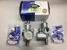 "BSA AMAL MONOBLOC 389 CARB SET RIGHT- LEFT 1 5/32"" BORE Lightning Spitfire A65"