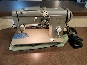 Vintage Pfaff 230 Dial-a-Stitch Sewing Machine- READ DESCRIPTION