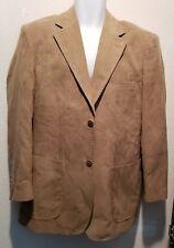 Pronto Uomo Men's sport coat Tan size M
