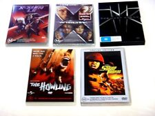 "X-men1,2 and 3,STARSHIP TROOPERS,THE HOWLING DVD'S - ""LIKE NEW"""