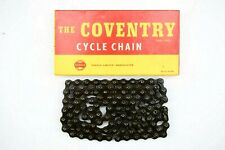 "NOS, THE COVENTRY 1/2 X 1/8"" BICYCLE CHAIN, 112 LINKS, SINGLE SPEED/ STURMEY"