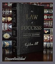 New Law of Success by Napoleon Hill Sealed Leather Bound Deluxe Collectible Gift