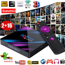 H96 MAX RK3318 Quad Core Android 9.0 2+16GB 4K Smart TV Box 2.4/5G WLAN USB3.0