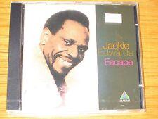 "BRAND NEW REGGAE CD - JACKIE EDWARDS - ""ESCAPE"""