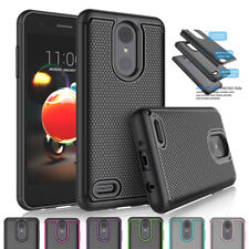 For LG Rebel 3 LTE/K8 2018/Fortune 2/Zone 4/X210 Armor Hybrid Impact Case Cover