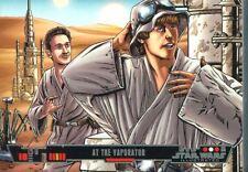 Star Wars Illustrated Complete 100 Card Base Set