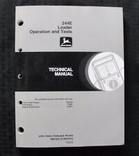 John Deere 244E 244 Loader Tractor Operation & Test Technical Service Manual