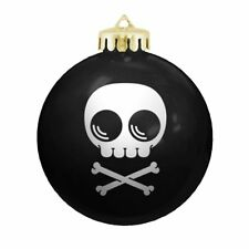 Mike Mitchell Skully X-Mas Christmas Ornament Decoration Shatterproof Made in US