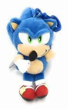 Sonic The Hedgehog Plush Keyring Bag Keychain With Video Game Sounds & Music