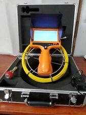 HBUDS Sewer Pipe Inspection Camera Snake Video System.   (F4)