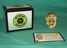 Harmony Ball Kingdom Pot Bellys Sharp Shooter Cupid Valentine 2001 Rare