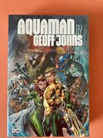 Aquaman Geoff Johns Omnibus hardcover New 52 DC NEW Sealed Graphic Novel Lot