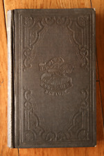 The Knowledge of Jesus by Alexander Carson 1853 Edward H. Fletcher Antique Book