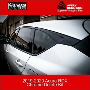 Chrome Delete Kit fitting the 2019-2020 Acura RDX