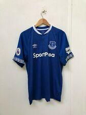 fb8d0298812 Umbro Everton FC Men's 2018/19 Home Shirt - Large - Richarlison 10 - Blue