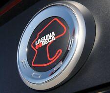 OEM 2013-2014 Ford Mustang LAGUNA SECA RED FAUX GAS CAP, DECKLID (DR3Z6342528BA)