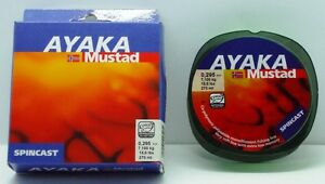 Mustad Ayaka Mono Spincast Fishing Line. Great for lures and soft plastics. NEW