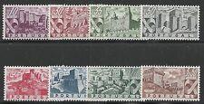 Portugal Scott #662-69, Singles 1946 Complete Set FVF MH