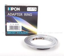 Kipon Adapter for Contax Y/C to Canon EOS 5D Mark IV, 80D, 6D Mark II w/ROM