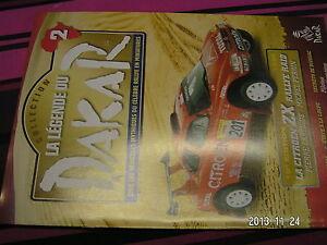 Fascicule Legende Paris Dakar n°2 SCHLESSER ZOUERAT EDITION 1996