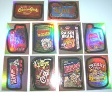 Wacky Packages 2006 ANS3 series 3 foil SET of 10