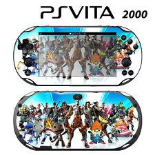 Vinyl Decal Skin Sticker for Sony PS Vita Slim 2000 All-Stars Battle Royal