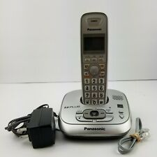 Panasonic KX-TG4021 DECT 6.0 PLUS Digital Cordless Phone Tested and Working