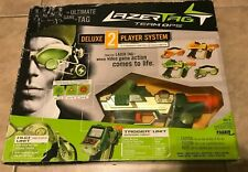 LAZER TAG Team OPS Tiger Deluxe 2 Player System 2 Tagger & HUD Units NEW Sealed