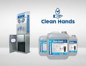 automatische Handstation Clean Hands INOX