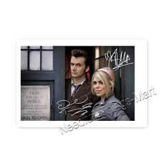 Doctor Who David Tennant & Billie Pieper alias Rose Tyler  -  Autogrammfoto  