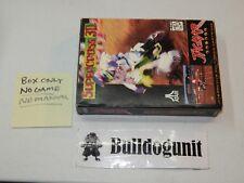Supercross 3D Empty Box Only Atari Jaguar NO Game No Manual Super Cross