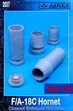 Aires 1/32  F/A-18C Hornet Closed Exhaust Nozzles for Academy kit # 2037