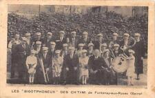 CPA 59 LES BIGOTPHONEUX DES CH'TI'MI (gens du Nord) DE FONTENAY AUX ROSES (cpa r