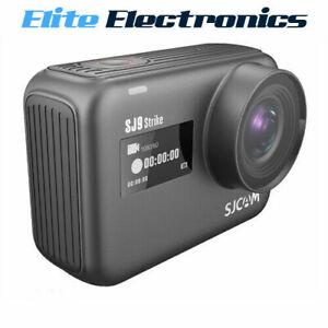 SJCAM SJ9 STRIKE Waterproof 4K Action Camera GYRO Stabilisation Black