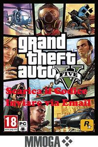 GTA5 - Grand Theft Auto V - PC Rockstar Games codice digitale online - IT