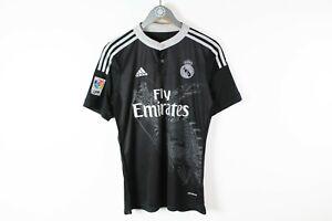 Yohji Yamamoto Adidas Real Madrid LFP 11 Bale Jersey T-Shirt Size S Black White