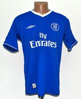 CHELSEA LONDON 2003/2004/2005 HOME FOOTBALL SHIRT JERSEY UMBRO SIZE M ADULT