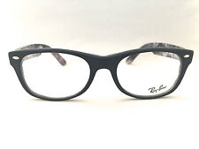 7a9855f96ec New Authentic Ray Ban RB 5184 5405 Matte Black Print 52mm Eyeglasses Frames  RX